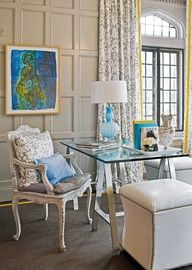 Eileen Kathryn Boyd | Traditional Home...  #Office Decor #Office Design #Office Decor