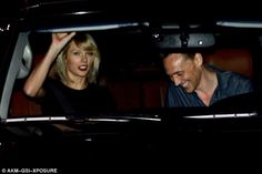 She's all mine! Tom Hiddleston is giddy with pride as he holds Taylor Swift's hand on dinner date  | Daily Mail Online