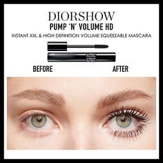 c60e7ce4c09 Dior - Pump 'N' Volume HD Mascara Thank you Sephora for sponsoring today's  post.