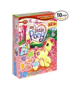 Fruit Shapes Fruit Snacks, My Little Pony, 10-Count Pouches (Pack of 10): Amazon.com: Grocery & Gourmet Food