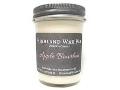 Apple Bourbon Soy Candle and Wax Melt Soy Wax Candles, Candle Wax, Apple Bourbon, Burning Candle, Wax Melts, Fragrance Oil, Fall Recipes, Pumpkin Spice
