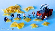 Project PASTA: FARFALLE (butterfly-shaped pasta) #foodart #foodartist…