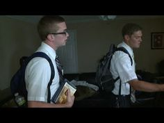 Young Mormons on a Mission - YouTube