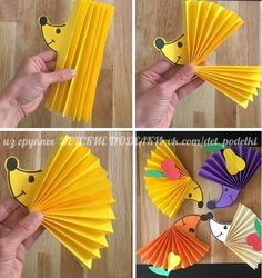 ДЕТСКИЕ ПОДЕЛКИ | VK Bible Crafts For Kids, Fall Crafts For Kids, Mothers Day Crafts, Diy Arts And Crafts, Diy For Kids, Easy Crafts, Autumn Crafts, Plate Crafts, Autumn Activities