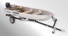V1457 Utility-V Boat