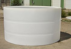 This is the Custom Roto-Molding 1300 Gallon Open Top Tank. Features: Capacity: 1300 Gallons Chemical and impact resistant Withstands temperature up to 140 degrees fahrenheit self supportingMaterial. Poly Stock Tank, Skinny Dippin, Small Pool Design, Water Storage Tanks, Koi Fish Pond, Deck With Pergola, Water Tank, Pool Designs, Home Improvement Projects