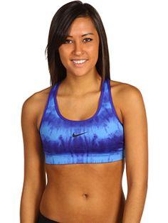 Nike sports bra blue