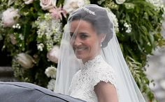 Pippa Middleton's wedding live: Duchess of Cambridge's sister arrives to marry fiancé James Matthews Carole Middleton, Pippa Middleton Wedding Dress, Middleton Family, Pippas Wedding, Wedding Robe, Wedding Photos, Wedding Dresses, Wedding Outfits, Wedding Reception