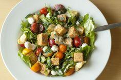 #Hodgson Mill #Recipe Blog | Cornbread Tomato Panzanella #Salad