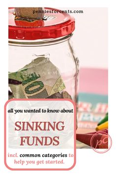 Sinking Funds smooth out your monthly budget and help you save for large, irregular expenses. Including some common categories. Get started and eliminate financial stress. Ways To Save Money, Money Saving Tips, Managing Money, Money Tips, Best Budgeting Tools, Fund Accounting, Savings Jar, Sinking Funds, Household Budget