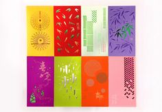 Red Envelope --- Bamboo and Its spirit by Yi Mi Xiaoxin, via Behance