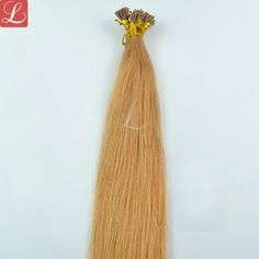 Straight Remy Stick I Tip Human Hair Extensions Full Head Dyed Blonde Hair, Brown Blonde Hair, Light Brown Hair, Light Hair, Micro Ring Hair Extensions, Brown Hair Extensions, Best Human Hair Extensions, Hair Shades, Brown Hair Colors