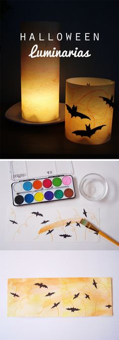 A lovely Halloween craft we can enjoy creating with the young artists in our lives…