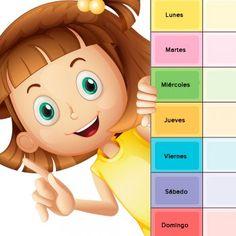 Los regalos del sol. Poema para enseñar a los niños los días de la semana.
