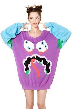 Daniel Palillo Monster Knit Sweater