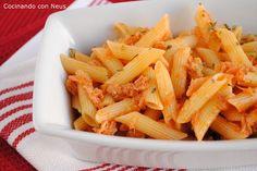 Macarrones con atún Couscous, Celery, Lunch, Vegetables, Recipes, Food, Bellini, Salads, Recipes For Children