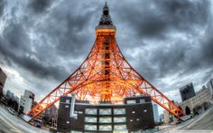 Wallpapers Of The Day Eiffel Tower x Eiffel Tower Pics Eiffel Tower Pictures, Tokyo Tower, Tokyo Travel, Places To Visit, Japan, Building, Towers, College, Free
