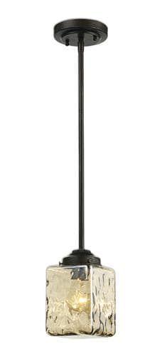 Patriot Lighting® Elegant Home Christian 1-Light Antique Bronze Mini Pendant Light  sc 1 st  Pinterest & Patriot Lighting® Shannon 1-Light Glass Pendant at Menards ...