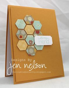 New hexigon punch & ticket punch