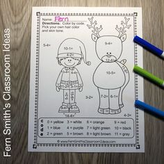 You will love the no prep, print and go ease of these Christmas Polar Express Color By Number Addition, Subtraction, Multiplication, and Division Christmas Themed Printables. This Christmas Polar Express Color By Number Addition, Subtraction, Multiplication, and Division Printables includes 12 pages for introducing or reviewing addition, subtraction, multiplication, and division. This bundle is perfect for differentiation in ESOL, ESL, Home Schooling and Special Education. Christmas Color By Number, Christmas Colors, Christmas Themes, Polar Express Activities, Color By Numbers, Multiplication And Division, Group Work, Addition And Subtraction, Differentiation