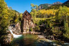 The Crystal Mill (1982), Colorado | Nikon HDR