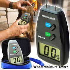 4 Alfiler Madera De Jardineria Digital Moisture Tester Metro Detector Humedo Tes: Bid: 28,48€ (£24.87) Buynow Price 28,48€ (£24.87)…