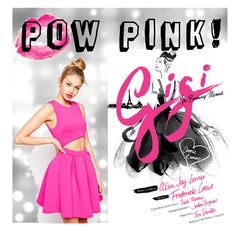 """""""Pow Pink!"""" by tarajanewatkins on Polyvore featuring Topshop and ASOS"""