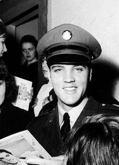 Elvis Presley — vinceveretts: Elvis, March 1960.