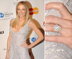 Pin for Later: The Very Best Celebrity Engagement Rings LeAnn Rimes LeAnn Rimes and Eddie Cibrian became engaged in Fall 2010, and she showed off a sparkly new diamond that November.