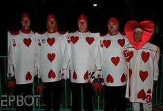 playing card costumes