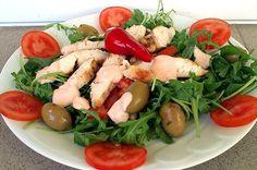 Netuční - zhubněte s námi Caprese Salad, Vegan, Chicken, Food, Diet, Essen, Meals, Vegans, Yemek