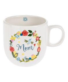 'Mom' 16-Oz. Earthenware Mug by Midwest-CBK #zulily #zulilyfinds
