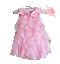 abf2cfab4bb139 US $8.89 10% OFF Meisjes Jurk 2017 Zomer Chiffon Party Dress Baby 1 Jaar  Verjaardag Jurk Baby Meisje Kleding Jurken & Hoofdband Vestidos in Meisjes  Jurk ...