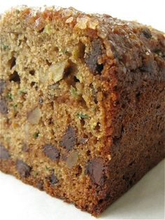 100% Whole Wheat Zucchini Chocolate Chip Bread: when the horn of plenty becomes the horn of too much.: King Arthur Flour – Baking Banter
