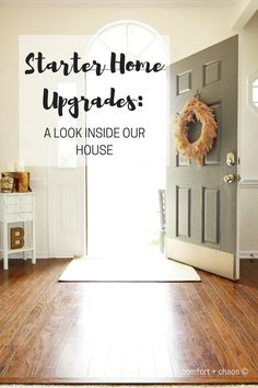 Starter home upgrades: a mini tour of our house