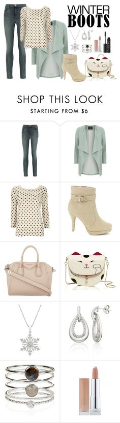 """""""Untitled #14"""" by calyope ❤ liked on Polyvore featuring J Brand, Dorothy Perkins, Wallis, Givenchy, Belk & Co., Accessorize and NARS Cosmetics"""