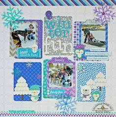 Frosty Friends: Winter Fun Layout