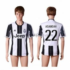 Juventus Fotbalové Dresy 2016-17 Asamoah 22 Domáci Dres