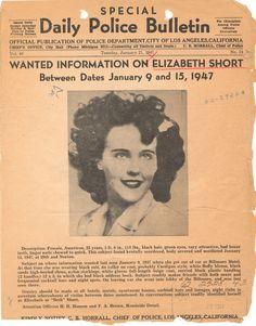 "1947: ""The Black Dahlia"" murder"