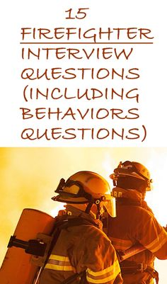 Find the 15 commonly asked firefighter interview questions and their possible best answers. How would you answer these questions? Firefighter Jobs, Becoming A Firefighter, Firefighter Workout, Female Firefighter Quotes, Firefighter Training, Firefighter Pictures, Interview Help, Interview Questions And Answers, Fire Training
