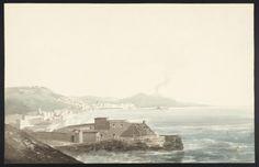 Joseph Mallord William Turner, Thomas Girtin 'Naples: Looking across the Bay towards Vesuvius from Mergellina', c.1796–7
