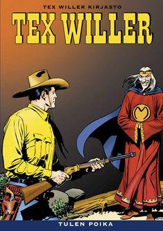 Tex Willer Kirjasto: Tex Willer - Tulen poika