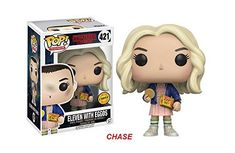Battle the Demogorgon and travel to the Upside Down! Your favorite character from the Netflix series Stranger Things has been stylized as a Pop! Vinyl Figure. Measuring approximately 3 3/4-inches tall, the Stranger Things Eleven with Eggos Pop! Vinyl Figure comes packaged in a window display... more details available at https://perfect-gifts.bestselleroutlets.com/gifts-for-teens/toys-games-gifts-for-teens/product-review-for-funko-pop-tv-stranger-things-eleven-in-wig-w-eggos-c
