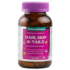 Healthy is Beautiful! Since 1985, millions of women have discovered the benefits of Futurebiotics' Hair, Skin & Nails. Hair, Skin & Nails is a complete daily multi-vitamin that also provides targeted nutrition for healthy, lustrous hair, glowing skin and strong nails.* Complete... more details at https://supplements.occupationalhealthandsafetyprofessionals.com/vitamins/hair-skin-nails-complex/product-review-for-futurebiotics-hair-skin-nails-beauty-multivitamin-13