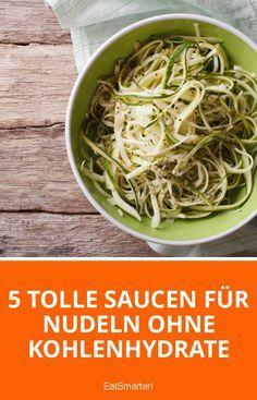 Nudeln aus Gemüse: nicht nur Low Carb, sondern auch richtig gesund und clean! | eatsmarter.de