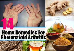 14 Home Remedies For Rheumatoid Arthritis - Natural Treatments & Cure For Rheumatoid Arthritis   Health Care A to Z