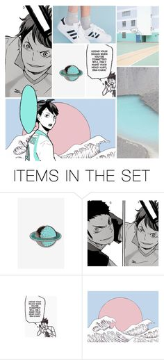 """""""{ we are the warriors that built this town } - oikawa tooru -"""" by patroclaws ❤ liked on Polyvore featuring art"""