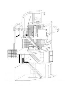 Bolles & Wilson, Suzuki House, 1993, Tokio, Japan