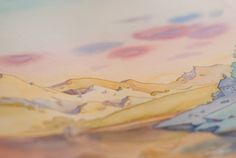 Watercolor Tale Illustrations on Behance