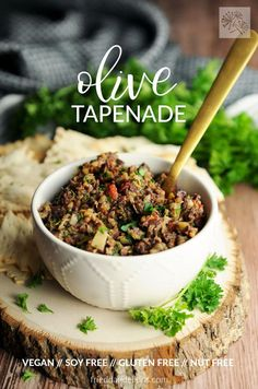 Olive Tapenade will